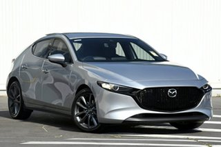 2020 Mazda 3 BP2HLA G25 SKYACTIV-Drive GT Jet Black 6 Speed Sports Automatic Hatchback.