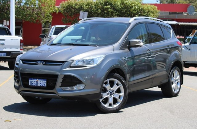 Used Ford Kuga TF Trend PwrShift AWD, 2013 Ford Kuga TF Trend PwrShift AWD Grey 6 Speed Sports Automatic Dual Clutch Wagon
