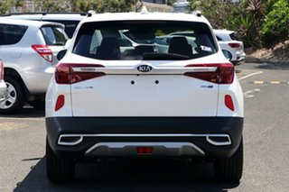 2021 Kia Seltos SP2 MY21 GT-Line DCT AWD Snow White Pearl 7 Speed 7AT Wagon