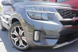 2021 Kia Seltos SP2 MY21 GT-Line DCT AWD Steel Grey 7 Speed Sports Automatic Dual Clutch Wagon.