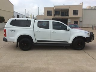 2016 Holden Colorado RG MY16 LS Crew Cab White 6 Speed Manual Cab Chassis.
