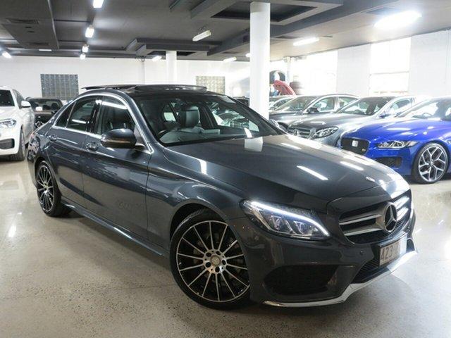Used Mercedes-Benz C-Class W205 C200 BlueTEC 7G-Tronic +, 2015 Mercedes-Benz C-Class W205 C200 BlueTEC 7G-Tronic + Grey 7 Speed Sports Automatic Sedan