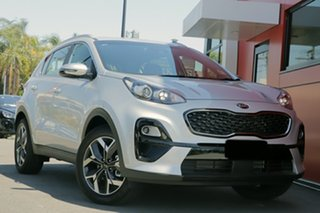 2021 Kia Sportage QL MY21 SX 2WD Sparkling Silver 6 Speed Sports Automatic Wagon.