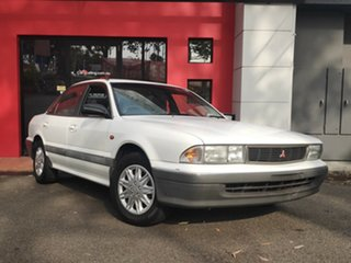 1993 Mitsubishi Magna TR Executive White 4 Speed Automatic Sedan