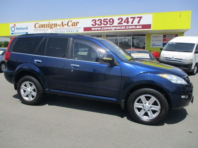 Used Great Wall X240 CC6461KY , 2011 Great Wall X240 CC6461KY Blue 5 Speed Manual Wagon
