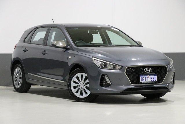 Used Hyundai i30 PD Update Go, 2018 Hyundai i30 PD Update Go Grey 6 Speed Auto Sequential Hatchback