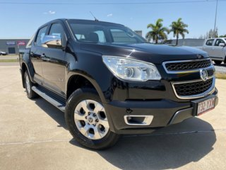 2013 Holden Colorado RG MY13 LTZ Crew Cab Black 5 Speed Manual Utility.