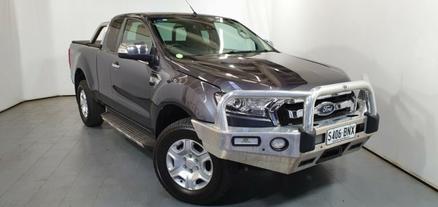 Used Ford Ranger PX MkII XLT Super Cab, 2016 Ford Ranger PX MkII XLT Super Cab Grey 6 Speed Sports Automatic Utility
