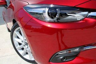2018 Mazda 3 BN5438 SP25 SKYACTIV-Drive GT Soul Red 6 Speed Sports Automatic Hatchback.