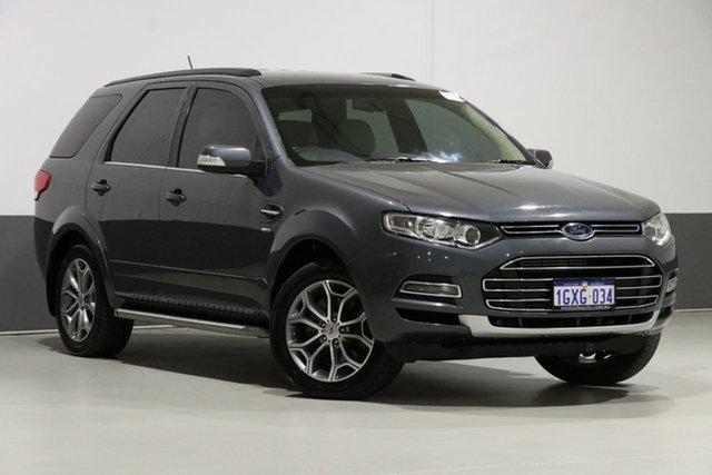 Used Ford Territory SZ Titanium (4x4), 2013 Ford Territory SZ Titanium (4x4) Grey 6 Speed Automatic Wagon