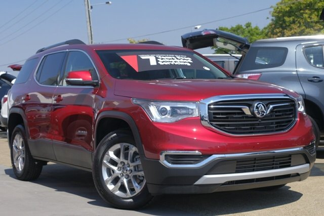 New Holden Acadia AC MY19 LT AWD, 2019 Holden Acadia AC MY19 LT AWD Glory Red 9 Speed Sports Automatic Wagon