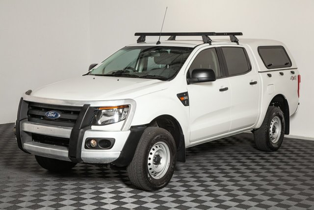 Used Ford Ranger PX XL Double Cab, 2015 Ford Ranger PX XL Double Cab White 6 Speed Manual Utility