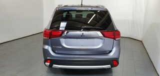 2015 Mitsubishi Outlander ZK MY16 XLS 2WD Grey 6 Speed Constant Variable Wagon