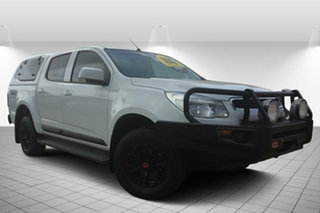 2016 Holden Colorado RG MY16 LS Crew Cab White 6 Speed Manual Cab Chassis