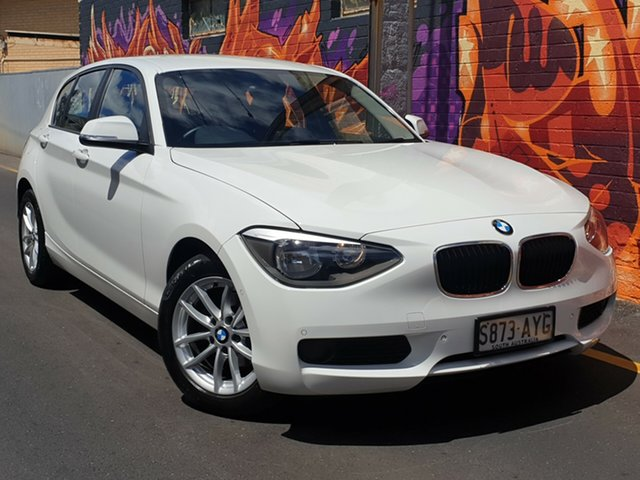 Used BMW 116i F20 116i, 2013 BMW 116i F20 116i White 8 Speed Sports Automatic Hatchback
