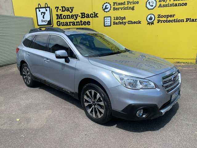 Used Subaru Outback B6A MY15 2.5i CVT AWD, 2015 Subaru Outback B6A MY15 2.5i CVT AWD Silver 6 Speed Constant Variable Wagon