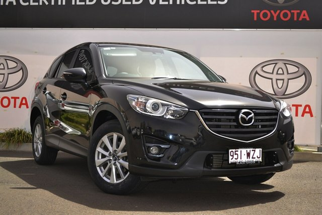 Used Mazda CX-5 MY15 Maxx Sport (4x4), 2016 Mazda CX-5 MY15 Maxx Sport (4x4) Black 6 Speed Automatic Wagon