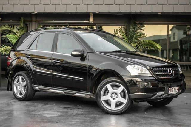 Used Mercedes-Benz M-Class W164 MY08 ML320 CDI Luxury, 2007 Mercedes-Benz M-Class W164 MY08 ML320 CDI Luxury Black 7 Speed Sports Automatic Wagon