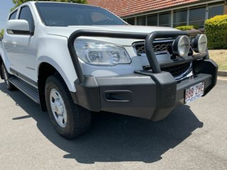 2015 Holden Colorado RG MY16 LS White 6 Speed Automatic Dual Cab