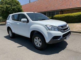 2014 Isuzu MU-X MY15 LS-M White 5 Speed Automatic Wagon.