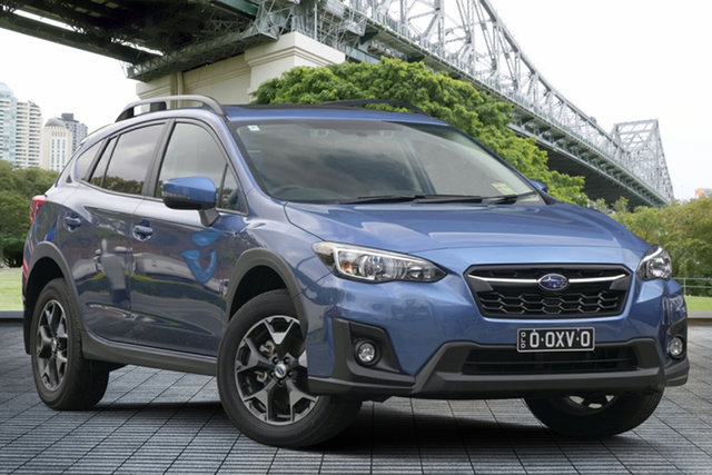 Demo Subaru XV G5X MY19 2.0i Premium Lineartronic AWD, 2019 Subaru XV G5X MY19 2.0i Premium Lineartronic AWD Quartz Blue 7 Speed Constant Variable Wagon