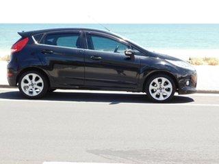 2010 Ford Fiesta WS Zetec Black 5 Speed Manual Hatchback.