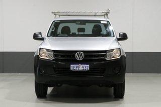 2013 Volkswagen Amarok 2H MY13 TSI300 (4x2) Silver 6 Speed Manual Dual Cab Utility.