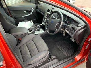 2007 Ford Falcon BF Mk II XR6 Flare Red 6 Speed Sports Automatic Sedan