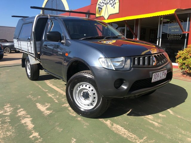 Used Mitsubishi Triton ML MY09 GL 4x2, 2009 Mitsubishi Triton ML MY09 GL 4x2 5 Speed Manual Cab Chassis