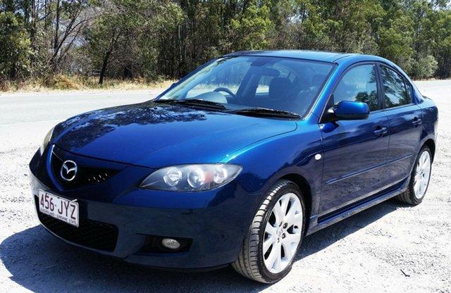 Used Mazda 3 BK10F2 Maxx Sport, 2006 Mazda 3 BK10F2 Maxx Sport Blue 5 Speed Manual Sedan