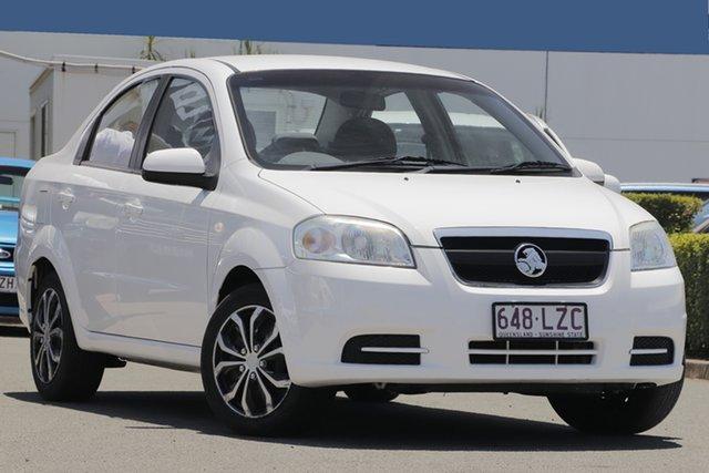 Used Holden Barina TK MY10 , 2009 Holden Barina TK MY10 Summit White 4 Speed Automatic Sedan