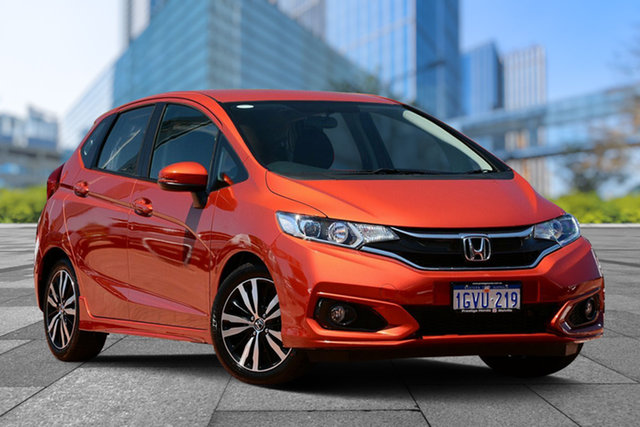 Used Honda Jazz GF MY19 VTi-S, 2019 Honda Jazz GF MY19 VTi-S Phoenix Orange 1 Speed Constant Variable Hatchback
