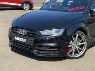 2016 Audi S3 8V MY16 S Tronic Quattro Black 6 Speed Sports Automatic Dual Clutch Sedan