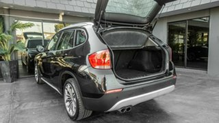 2010 BMW X1 E84 MY11 xDrive25i Steptronic Black 6 Speed Sports Automatic Wagon