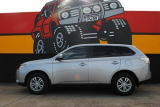2013 Mitsubishi Outlander ZJ MY13 LS 4WD Cool Silver 6 Speed Sports Automatic Wagon