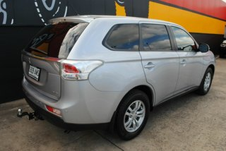 2013 Mitsubishi Outlander ZJ MY13 LS 4WD Cool Silver 6 Speed Sports Automatic Wagon.