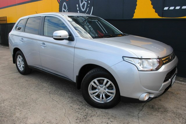 Used Mitsubishi Outlander ZJ MY13 LS 4WD, 2013 Mitsubishi Outlander ZJ MY13 LS 4WD Cool Silver 6 Speed Sports Automatic Wagon