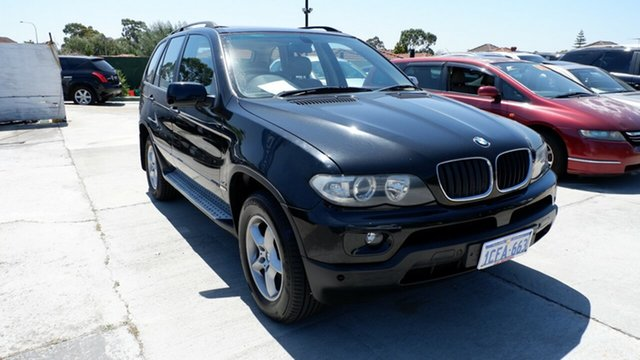 Used BMW X5 E53 MY06 d Steptronic, 2006 BMW X5 E53 MY06 d Steptronic Black 6 Speed Sports Automatic Wagon