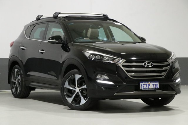 Used Hyundai Tucson TLE Highlander (AWD), 2016 Hyundai Tucson TLE Highlander (AWD) Black 7 Speed Auto Dual Clutch Wagon