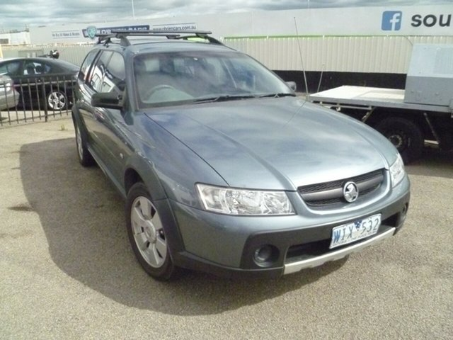 Used Holden Adventra VZ SX6, 2005 Holden Adventra VZ SX6 Blue 5 Speed Automatic Wagon