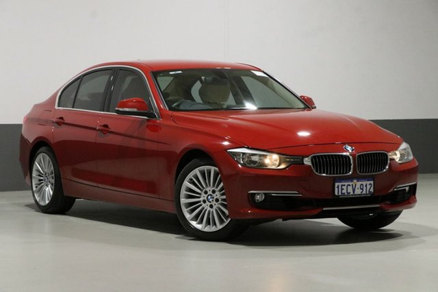 Used BMW 328i F30 Luxury Line, 2013 BMW 328i F30 Luxury Line Red 8 Speed Automatic Sedan