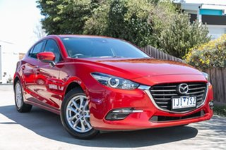 2016 Mazda 3 BN5478 Maxx SKYACTIV-Drive Red 6 Speed Sports Automatic Hatchback.