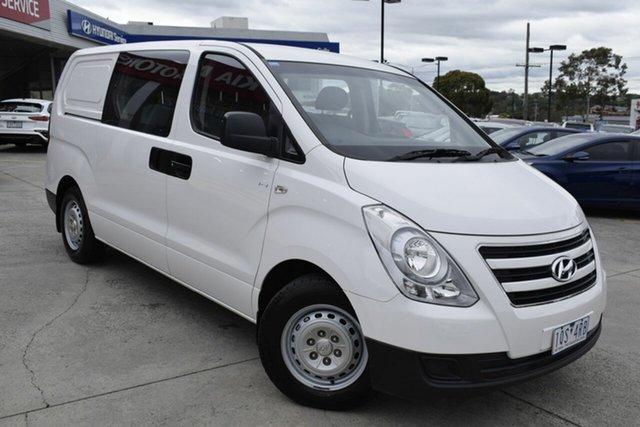 Used Hyundai iLOAD TQ3-V Series II MY17 Crew Cab, 2016 Hyundai iLOAD TQ3-V Series II MY17 Crew Cab White 5 Speed Automatic Van