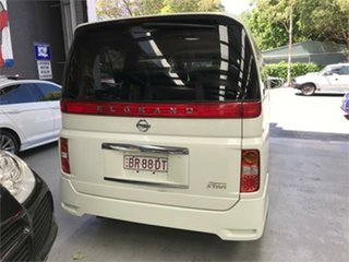 2007 Nissan Elgrand E51 Highway Star White Automatic Wagon