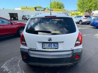 2013 Holden Captiva CG Series II MY12 5 Summit White 6 Speed Manual Wagon