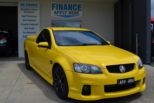 Used Holden Commodore VE II SS-V, 2010 Holden Commodore VE II SS-V Yellow 6 Speed Automatic Sedan
