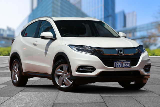 Used Honda HR-V MY19 VTi-S, 2019 Honda HR-V MY19 VTi-S White Orchid 1 Speed Constant Variable Hatchback