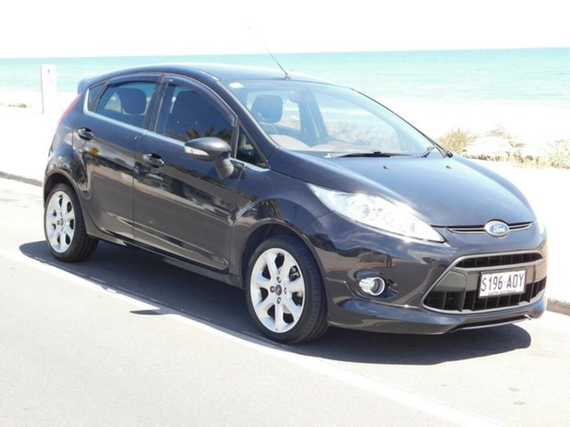 Used Ford Fiesta WS Zetec, 2010 Ford Fiesta WS Zetec Black 5 Speed Manual Hatchback