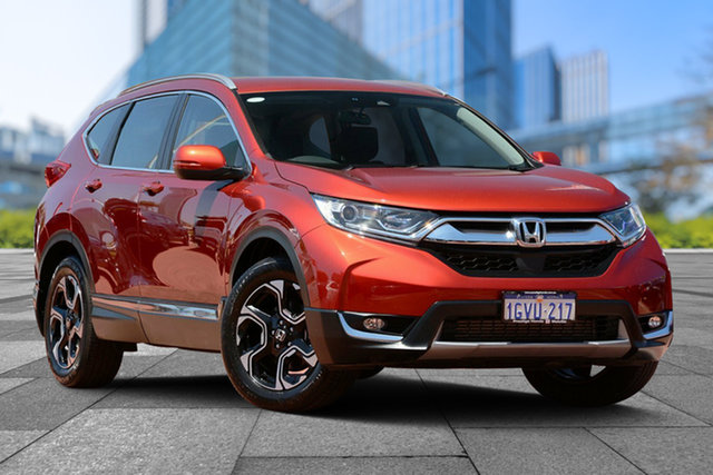 Used Honda CR-V RW MY19 VTi-S 4WD, 2019 Honda CR-V RW MY19 VTi-S 4WD Passione Red 1 Speed Constant Variable Wagon