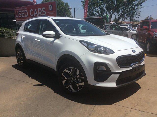 Demo Kia Sportage QL MY20 SX 2WD, 2019 Kia Sportage QL MY20 SX 2WD Clear White 6 Speed Sports Automatic Wagon